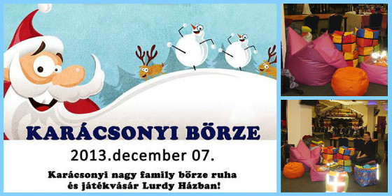 Lurdy Ház - Karácsonyi Börze 2013