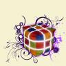 Színes kocka puff (3X3)